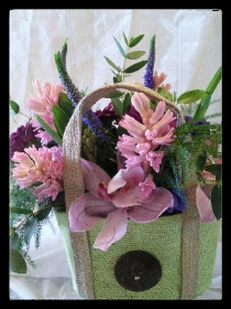 Canvas Flower Bag